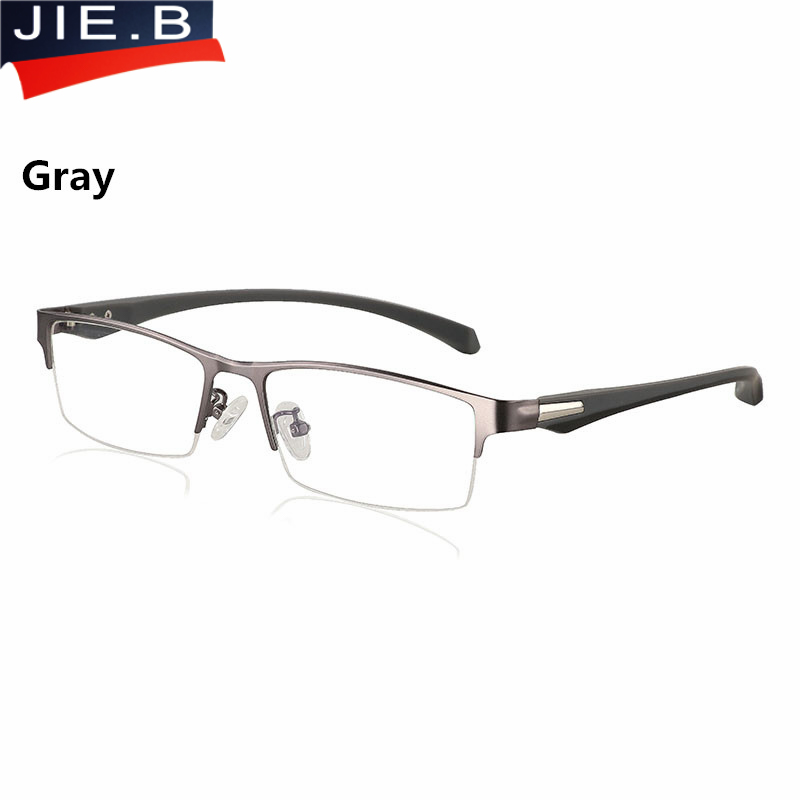 Image 5 - New Sun Photochromic Myopia Eyeglasses Optical Men student Finished Myopia Eyewear prescription Glasses Frame Half Rim  1.0  4.0-in Men's Eyewear Frames from Apparel Accessories