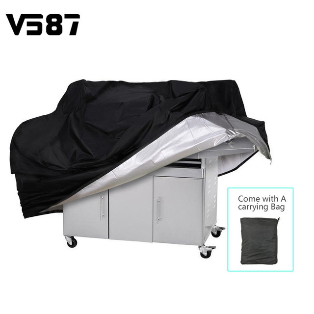 Waterproof BBQ Grill Barbeque Cover Outdoor Grill Rain UV Proof Canopy Dust Protector For Gas Charcoal  sc 1 st  AliExpress.com & Waterproof BBQ Grill Barbeque Cover Outdoor Grill Rain UV Proof ...