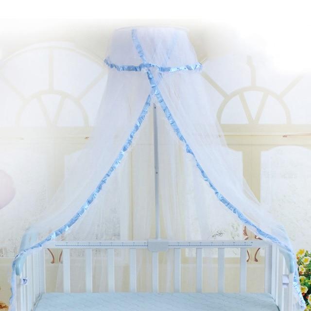 Aliexpresscom Comprar Bebé Mosquito Net Verano Bebé Neto De La Cama Cuna Red De Mosquito Net Durable Bebé Infantil Dosel Cama Redonda Canopy Para