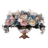 Jarron Vazen Cam Fanus Teraryum Vaso De Flor Jarrones Decorativos Moderno Accessori Decorazione Della Casa Moderna Vaso di Fiori