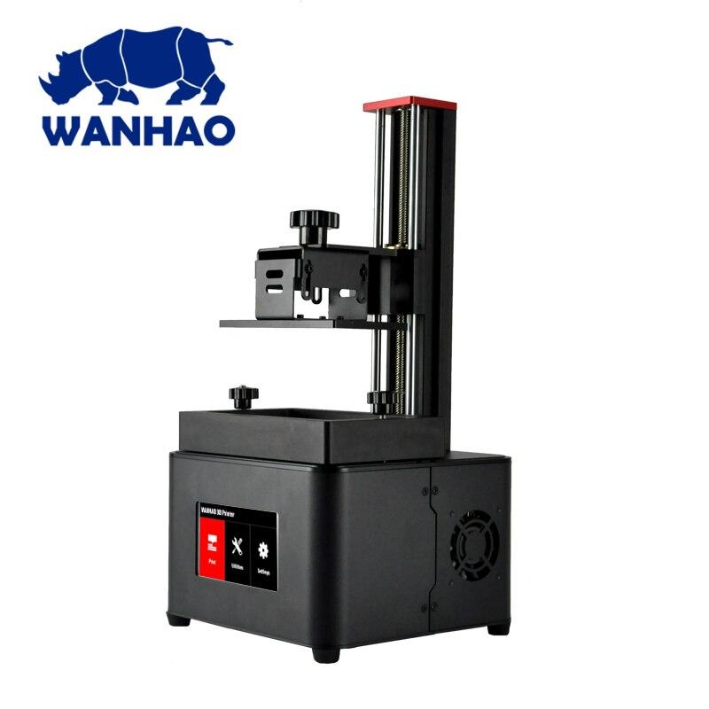2019 NOUVEAU! Wanhao duplicateur 7 PLUS imprimante 3D (V1.5) imprimante 3D à écran tactile DLP SLA résine UV avec nouveau couvercle - 3