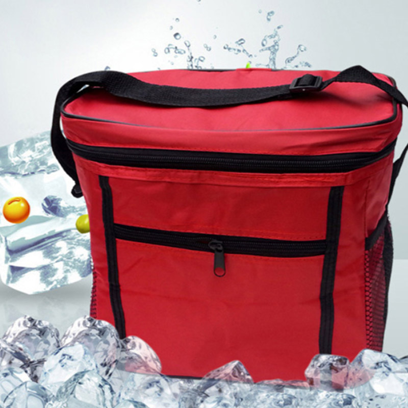 Outdoor Cooler Bag Box Picnic Camping Food Drink Festival Shopping Ice Bags New