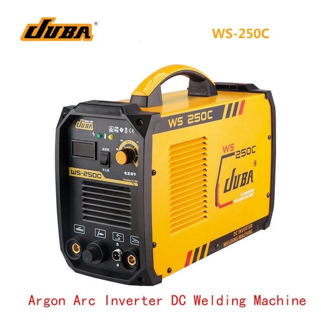 Factory Price Wholesale Quality JUBA WS 250 Inverter Welding Machine TIG/MMA Welding Argon TIG Welder High quality welding tools brand new high quality tig kit