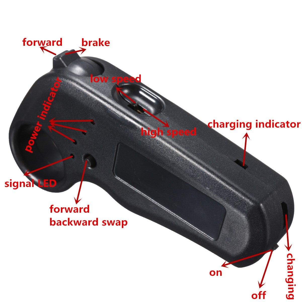 Mini télécommande unique moteur électrique planche à roulettes de longboard contrôleur ESC Substitut Pour Planche À Roulettes Électrique Longboard - 5