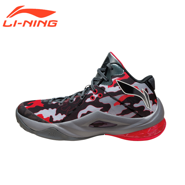 Li-Ning Brand Men's Professional Basketball Shoes Cushioning Breathable Wade Series Team 4 Sports Sneakers LiNing ABAM013