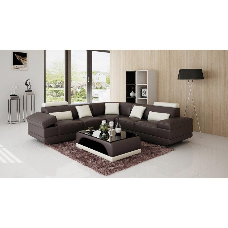 L Shape Nice Look Luxury Living Room