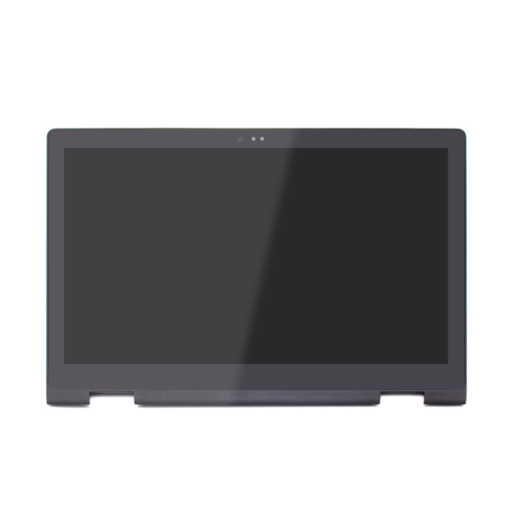 15 6 FHD LCD Display Screen Touch Glass Digitizer Panel Assembly Frame 40 pins For Dell
