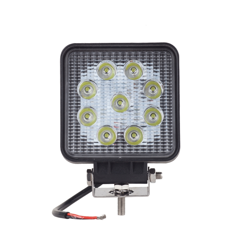 10 pièces 27 w DRL feux de jour LED 10-30 V 4WD 12 v accessoires de voiture pour hors route SUV Bus bateau feu antibrouillard pour LADA NIVA UAZ