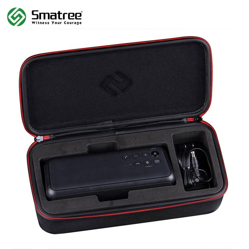 Smatree Carrying Hard Protective Black EVA Case for Sony SRSXB3 Portable Wireless Bluetooth Speaker