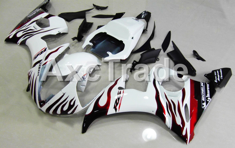 Motorcycle Fairings For Yamaha YZF600 YZF 600 R6 YZF-R6 2003 2004 2005 03 04 05 ABS Injection Molding Fairing Bodywork Kit B415 hot sales 2005 r6 fairings for yamaha yzf r6 05 yzf r6 05 yzf 600 r6 yzf r6 red fiat abs fairing set injection molding