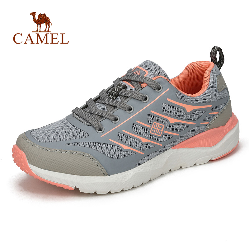 CAMEL 8264 Men Women Hiking Shoes Breathable Outdoor Jogging Walking Shoes Comfortable Trekking Sneakers