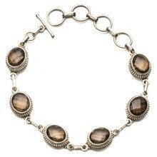 Smoky Quartz Bracelet Sterling Silver Best Bracelets