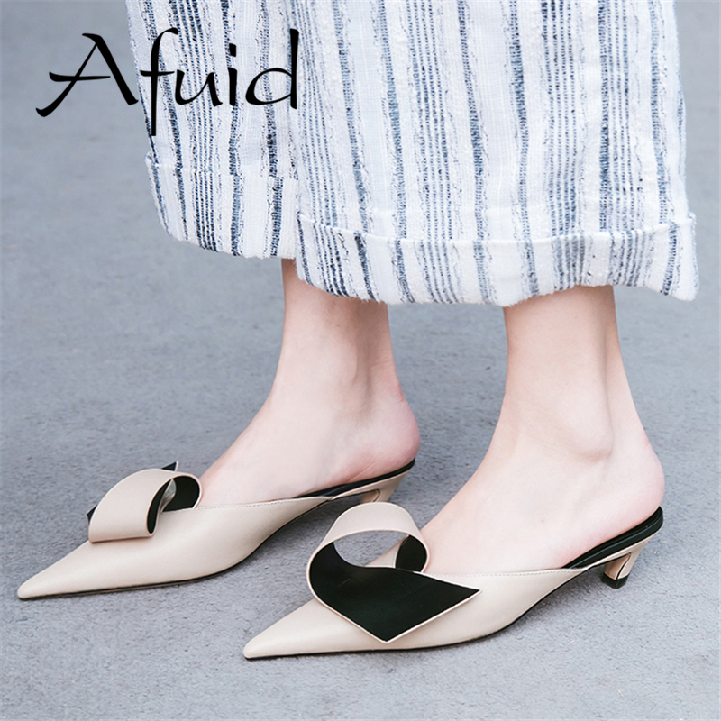 AFUID 2019 New Style Women Shoes Flats Big Size Shoes Ballet Flats For Women Driving Walking