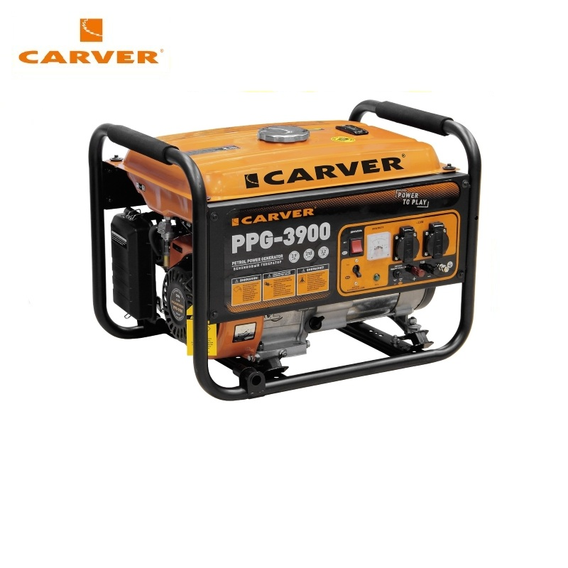 Petrol power generator CARVER PPG-3900 Power home appliances Backup source during power outages Benzine power stations traco power ted0511 ted0521