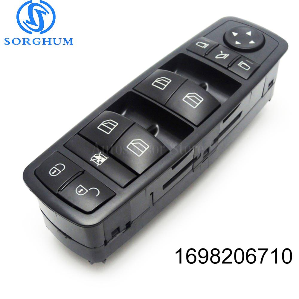 <font><b>1698206710</b></font> front Power Window master control button Switch A1698206710 For 2006-2012 Mercedes-Benz B-Klasse W245 W169 A-Klasse image