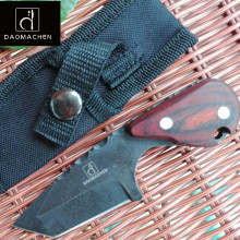 DAOMACHEN Camping Knife Survival Fixed  Blade Tactical Hunting Knife Huntsman Knives Outdoor Survive Wood Handle цены онлайн