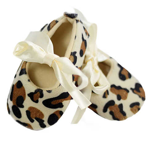 Милые леопардовые прогулочные туфли с мягкой подошвой для маленьких девочек; Кроссовки для новорожденных до 12 месяцев