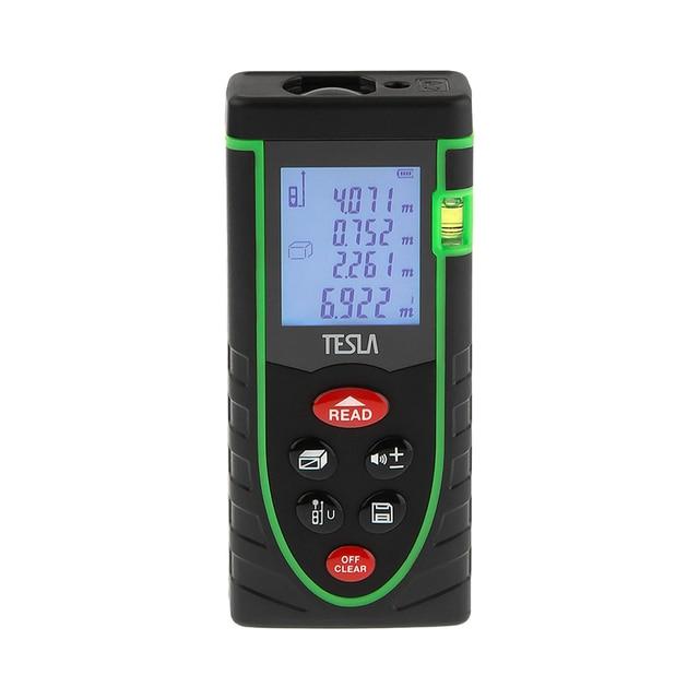 Дальномер лазерный TESLA M-40 дальность 40 метров, точность ±2мм