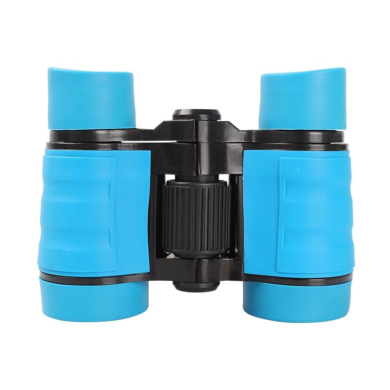 Mini Kids Binocular Outdoor Sports Optics 4x30 Viewing Concert Bird Watching Pocket Size Telescope For Kids Games Boys Toys Gift