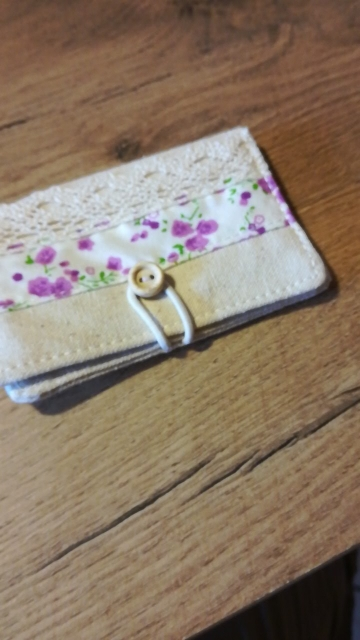 2019 Printing Card Wallet Fashion Women Credit Card Holder Lace Design Bank Card Organizer Floral Decoration Canvas Prote Carte photo review