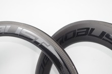цена на 700C Combo Front 60mm Rear 88mm Road Tubular Bike Carbon Rims 23mm Wide V Shape Bicycle Wheel Rim