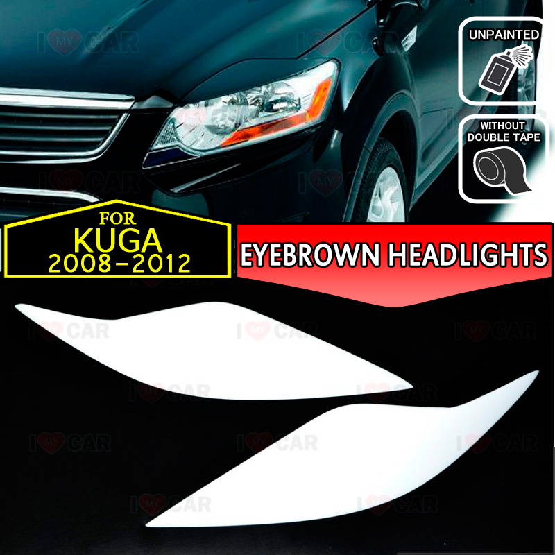 For INFINITY FX35 2008 2009 2010-2012  Front Eyelids Eyebrows Headlight Covers