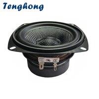 Tenghong 4inch Midrange Bass Speaker 4/8Ohm 30W Fiberglass Bluetooth HIFI Portable Audio Speaker Unit For Home Theater Woofer