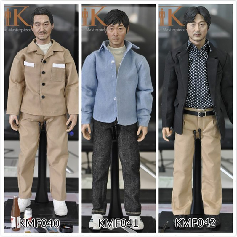 Toys&Hobbies KMF040 KMF041 KMF042 1/6 Scale body Korean Super Star/Asian Male head and clothes Whole-Action Figure Complete Set все цены
