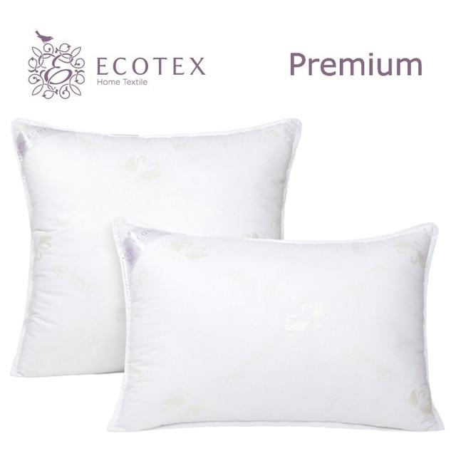 Подушка «Лебяжий пух», «Ecotex» (Россия).