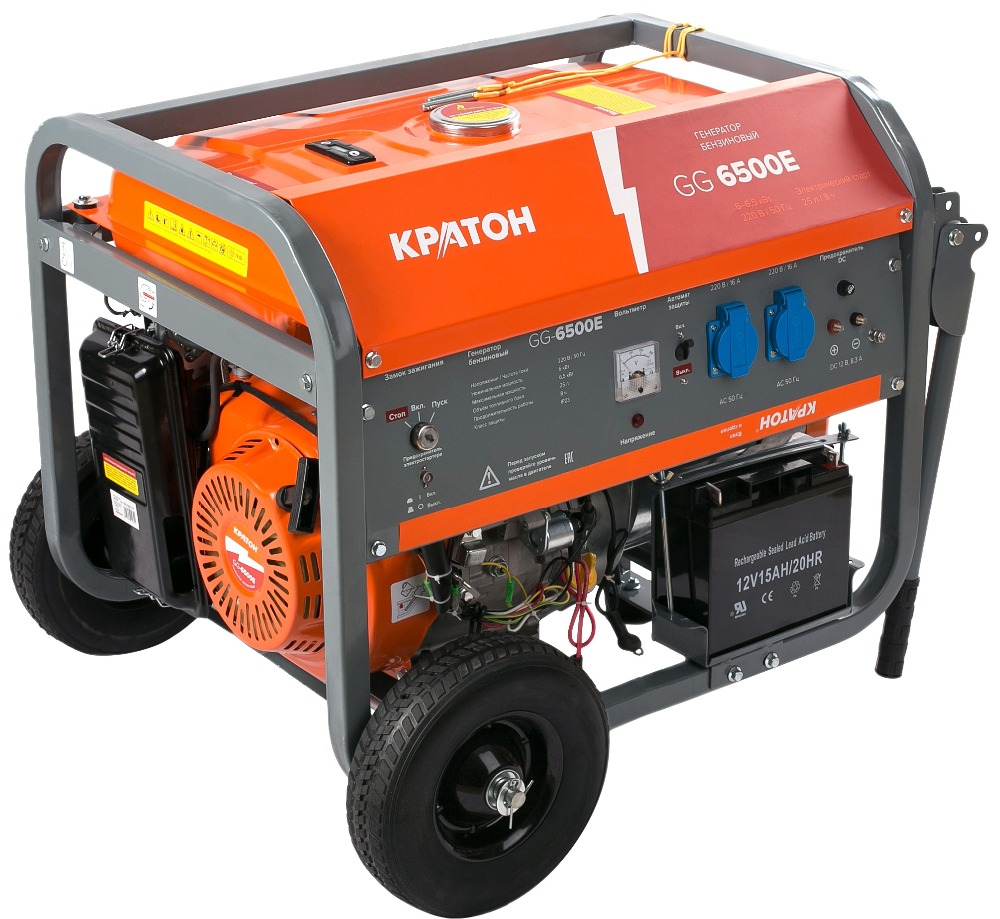 Gasoline generator KRATON GG-6500EM 1pc stamford generator avr mx341 for permanent magnet generator