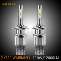 Automotive LED Headlight Bulb H4h7h7h19005h119006h3h8 Fog Lamp Near Light And Far Light Modification