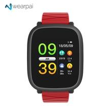 Купить с кэшбэком Wearpai M30 blood pressure Smart watch ios andriod color screen fitness tracker smart sports watch men women waterproof ip67