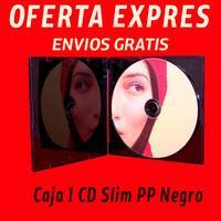 The CD case or box CD slim black Polypropylene (PP) [OFFER EXPRESS]