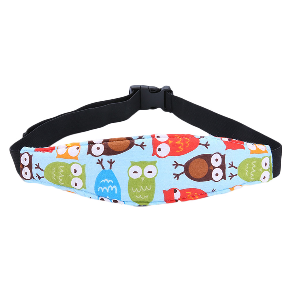 New Child Car Safety Seat Head Fixing Auxiliary Cotton Belt Pram Secure Strap Doze Band for Baby Safety Seat