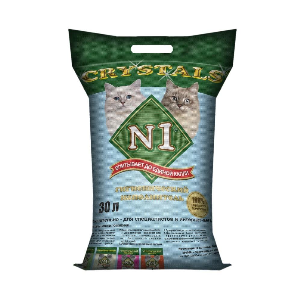 N1 Crystals silica gel cat litter, 30 L. silica gel cake scraper 3pcs