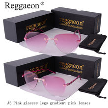 Reggaeon lady pilot flower metal frame luxury Lady sunglasses brand design large circular frame sunglasses gradient lens UV400