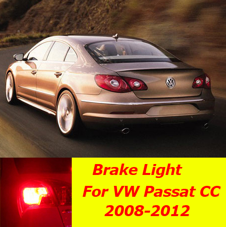 Scoe Brake Light Stop 5050led W16w Dc12v 2x22smd For Volkswagen Vw Pat Cc 357 2008 2017 Car Styling Bulb Source