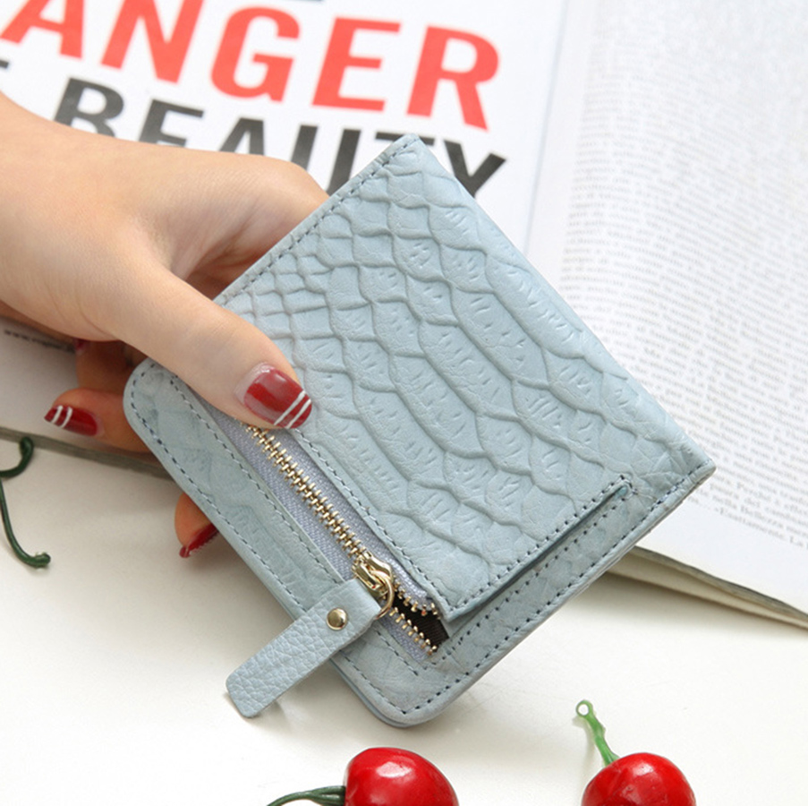 Free shipping Genuine Leather Wallet Female Wallets With Zipper Coin Bag Women Small Coin Purses Lady Cards Holder Wallet simline fashion genuine leather real cowhide women lady short slim wallet wallets purse card holder zipper coin pocket ladies