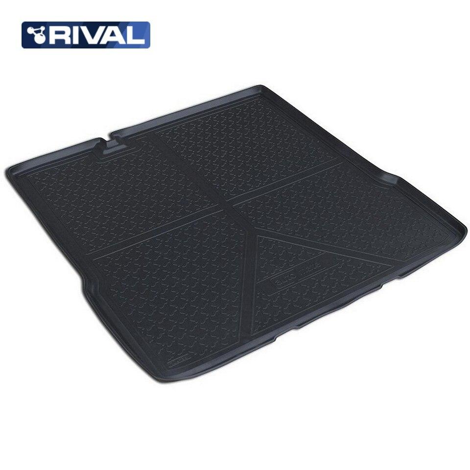 For Chevrolet Aveo T300 SEDAN 2011-2015 trunk mat Rival 11001002 for chevrolet cruze sedan 2009 2015 trunk mat rival 11003003
