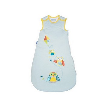 The Gro Company Fly A Kite Baby Sleeping Bag Pure Cotton 3.5 Tog 0-6/ 6-18 /18-36 Months