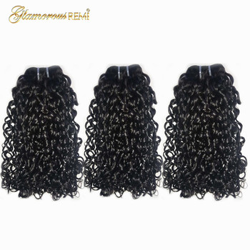 Kinky Curly Funmi Double Drawn Human Hair Weft Pixie Flexi Curl Fumi Hair Bundles 1 3 4 PCS Thick End Hair Weave Extensions aliexpress aunty funmi hair spring curl red orange color double drawn raw virgin human hair funmi hair weaving 3 bundles