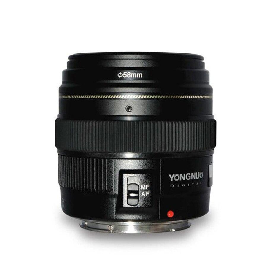 YN100mm F2 AF/MF Medio Teleobiettivo per Canon EOS DSLR camera EF 100mm Focale Fissa porta di montaggio 600D 60D 80D 6D 5D3