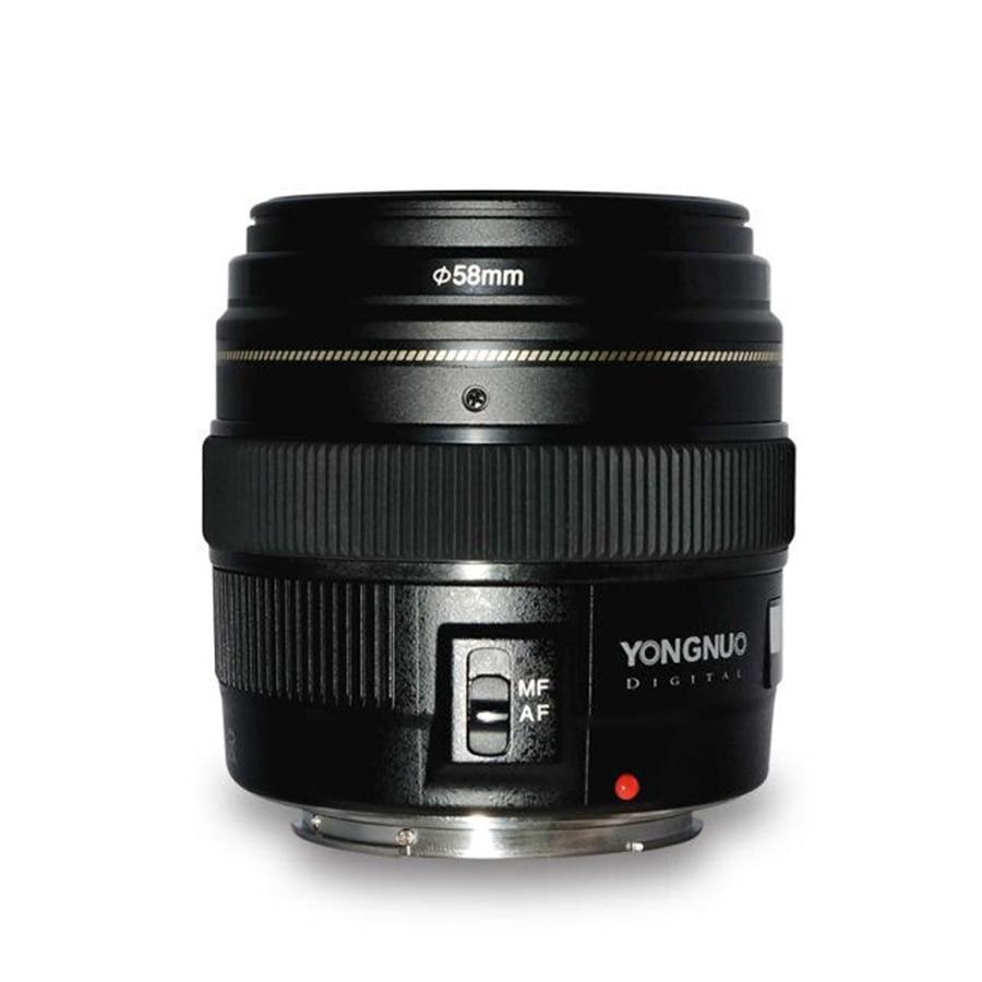 YN100mm F2 AF/MF moyen téléobjectif pour Canon EOS DSLR caméra 100mm focale fixe EF port de montage 600D 60D 80D 6D 5D3
