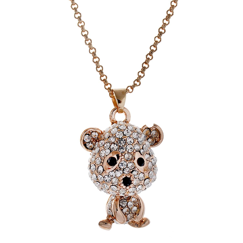 Lureme moda dulce estilo aleación en forma de oso lindo con ...