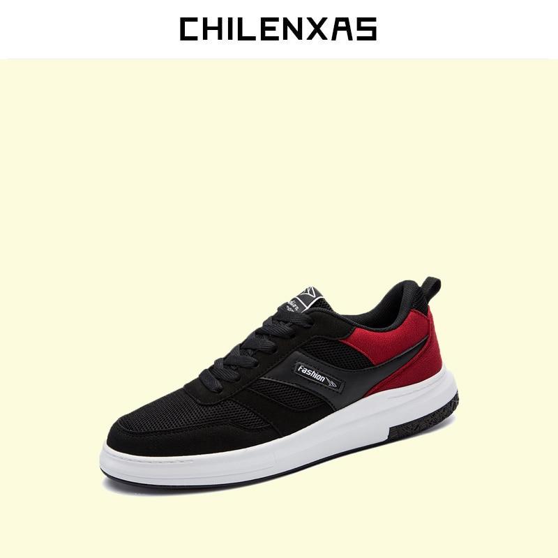 CHILENXAS 2017 Autumn Winter Leather font b Casual b font font b Shoes b font Men
