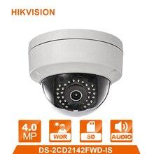 Оригинальная DS-2CD2142FWD-IS английская версия 4MP Замена DS-2CD2132-I камера видеонаблюдения ip-камера WDR Фиксированная купольная сетевая камера
