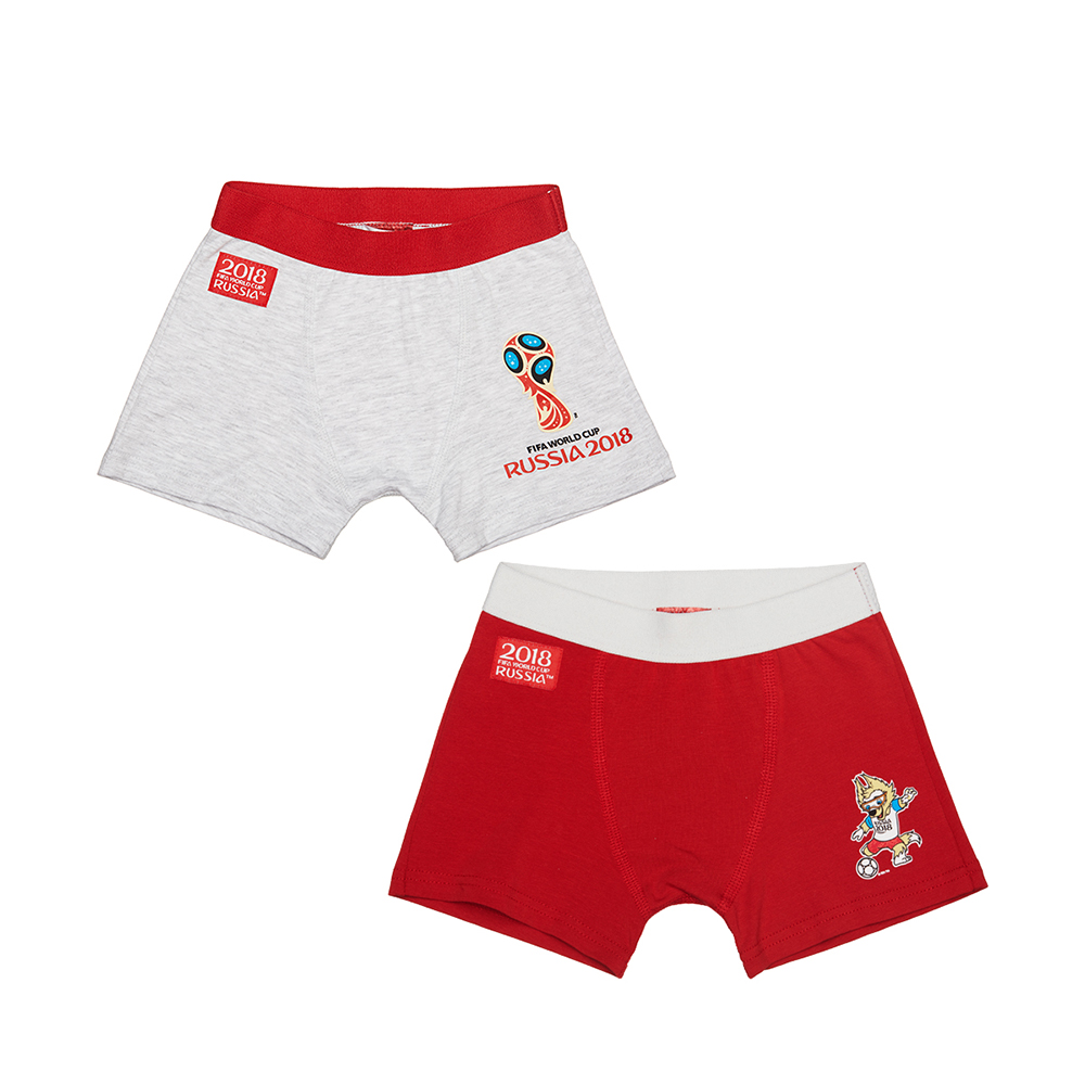 Underwear FIFA WORLD CUP RUSSIA 2018 for boys F1-27M Shirt Underpants Baby Clothing Children clothes T shirt bear leader girls clothing sets 2018 new summer sleeveless t shirt print bow pants 2pcs for kids clothing sets baby clothes