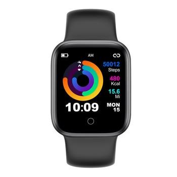 RUNDOING NY07 Smart watch Heart rate Blood pressure Fitness tracker Fashion men Sport smartwatch for ladies men 9