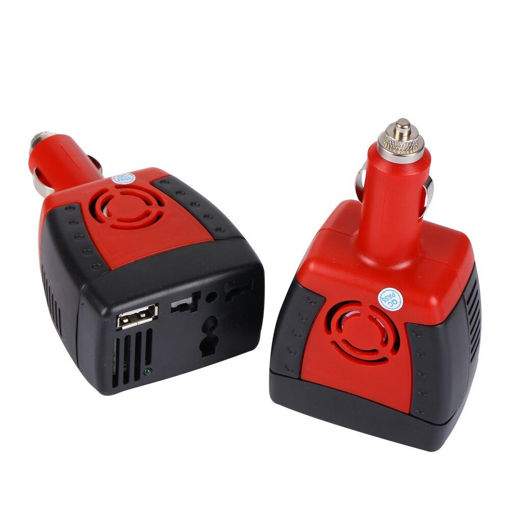 Automotive Inverter 150 W con Usb inversor del coche 12 V a 220 VInverter refuerzo convertidor de energía