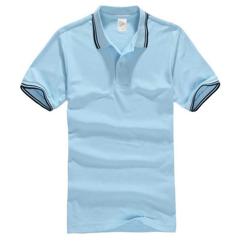2018 Summer Cotton Men's   Polo   Shirt Short Sleeve New Men   Polo   Shirts Camisa   Polo   Masculina